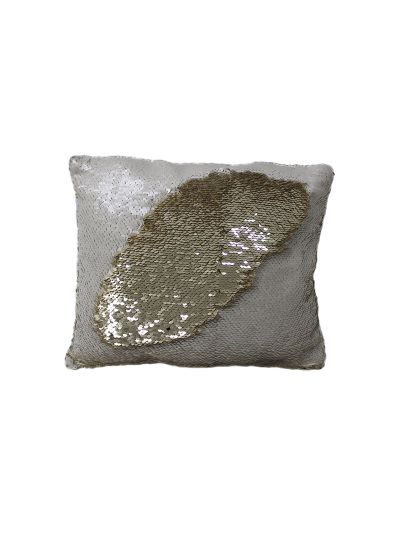 Cream Mermaid Throw Pillow Cream Rectangle - MS-CREAM-10 Pillow Cover