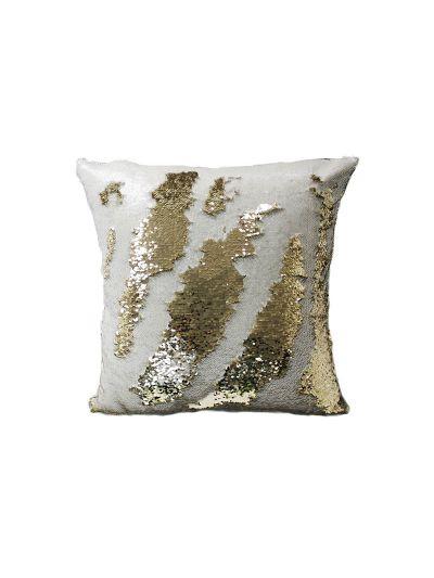 Cream Mermaid Throw Pillow Cream Square - MS-CREAM-20 Pillow Cover With Filler