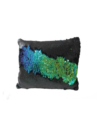 Dragon Mermaid Throw Pillow Green Rectangle - MS-DRAGON-10 Pillow Cover