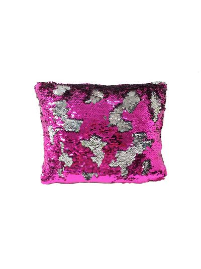 Flamingo Mermaid Throw Pillow Pink Rectangle - MS-FLAMINGO-10 Pillow Cover With Filler