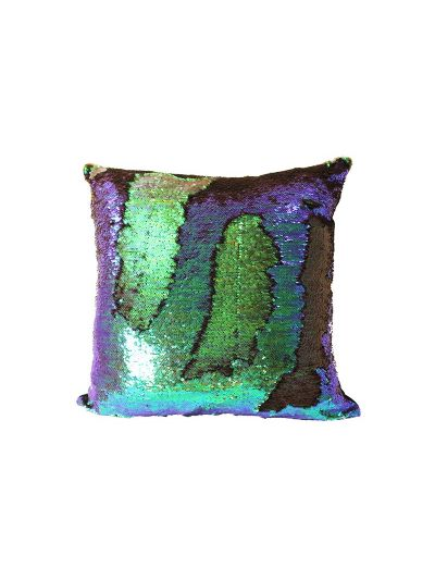 Mystic Mermaid Throw Pillow Purple Square - MS-MYSTIC-18 Pillow Cover