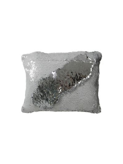 Pearl Mermaid Throw Pillow White Rectangle - MS-PEARL-10 Pillow Cover With Filler
